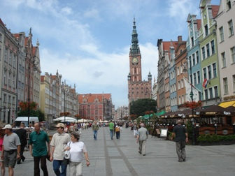 Foto of the city of Gdansk, Poland